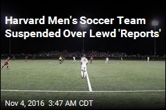Harvard Men's Soccer Team Suspended Over Lewd 'Reports'