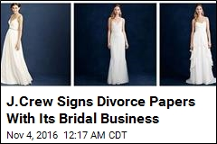 J.Crew Is Getting Out of the Bridal Business