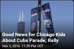 Chicago to Hold Parade, Rally for Cubs