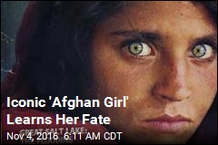 Iconic 'Afghan Girl' Learns Her Fate