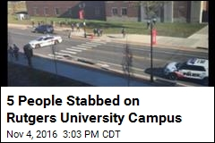 5 People Stabbed on Rutgers University Campus
