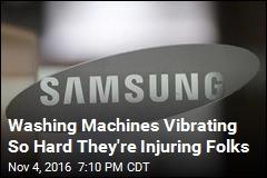 New Samsung Recall: 3M Washing Machines