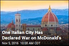 One Italian City Has Declared War on McDonald's