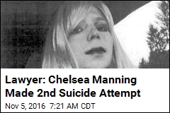 Lawyer: Chelsea Manning Made 2nd Suicide Attempt