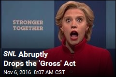 SNL Abruptly Drops the 'Gross' Act