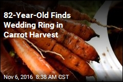 82-Year-Old Finds Wedding Ring in Carrot Harvest