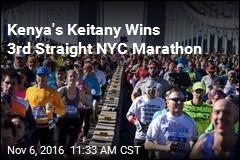 Kenya's Keitany Wins 3rd Straight NYC Marathon