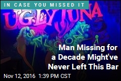 Man Missing for a Decade Might've Never Left This Bar