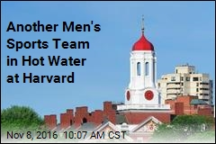 Another Men's Sports Team in Hot Water at Harvard