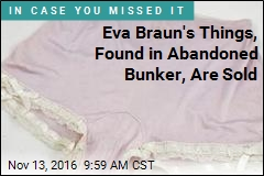 Eva Braun's Used Undies Find New Owner