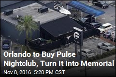 Orlando To Buy Pulse Nightclub, Turn It Into Memorial