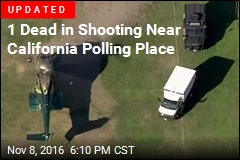 1 Dead in Shooting Near California Polling Place