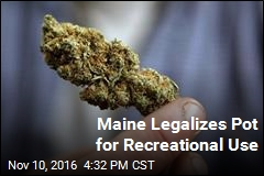 Maine Votes to Legalize Pot