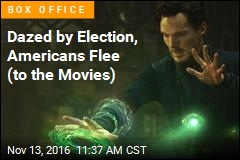 Dazed by Election, Americans Flee (to the Movies)