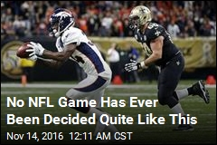 No NFL Game Has Ever Been Decided Quite Like This