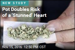 Pot Doubles Risk of a 'Stunned' Heart