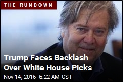 Trump White House Picks Puzzle, Alarm Analysts