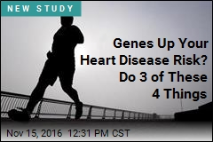 Genes Up Your Heart Disease Risk? Do 3 of These 4 Things