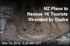 NZ Plans to Rescue 1K Tourists Stranded by Quake
