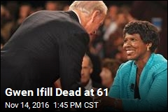 Gwen Ifill Dead at 61