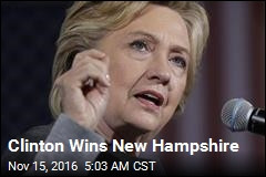 Clinton Wins New Hampshire
