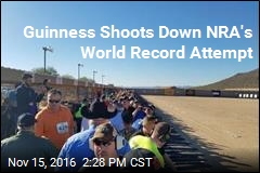 NRA Goes for World-Record Shooting