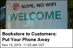 Bookstore to Customers: Put Your Phone Away