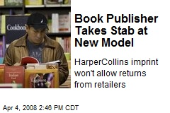 Book Publisher Takes Stab at New Model
