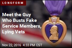 Meet the Guy Who Busts Fake Service Members, Lying Vets