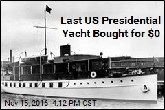 Last US Presidential Yacht Bought for $0