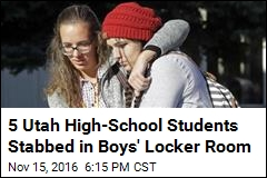 5 Utah High-School Students Stabbed in Boy's Locker Room