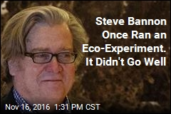 Bannon's Time in Eco-Experiment Marred by Claims of Harassment