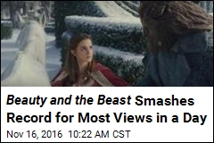 Beauty and the Beast Smashes Record for Most Views in a Day