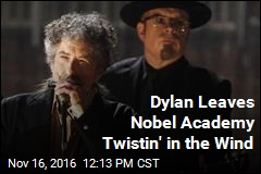 Dylan 'Incredibly Honored,' Won't Pick Up Nobel