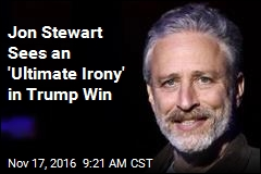 Jon Stewart Sees an 'Ultimate Irony' in Trump Win