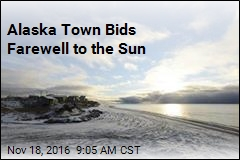 Alaska Town Bids Farewell to the Sun