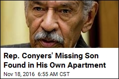 Rep. Conyers' Missing Son Found in His Own Apartment
