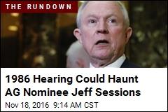 Trump's Attorney General Pick: Alabama Sen. Jeff Sessions