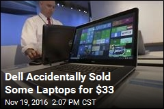 Dell Accidentally Sold Some Laptops for $33