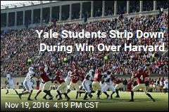 Yale Students Get Naked for Victory Over Harvard