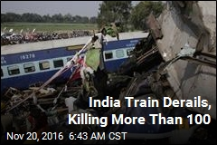 India Train Derails, Killing More Than 100