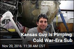 Kansas Guy Is Pimping Cold War-Era Sub
