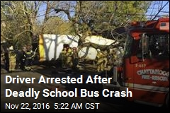 Driver Arrested After Deadly School Bus Crash