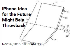 iPhone Idea for the Future Might Be a Throwback
