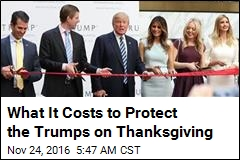 What It Takes to Protect the Trumps on Thanksgiving
