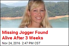 Missing Jogger Found Alive After 3 Weeks