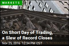 On Short Day of Trading, a Slew of Record Closes