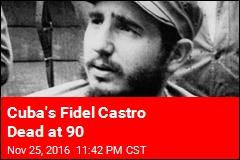 Cuba's Fidel Castro Dead at 90