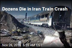 Dozens Die in Iran Train Crash