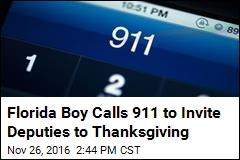 Florida Boy Calls 911 to Invite Deputies to Thanksgiving